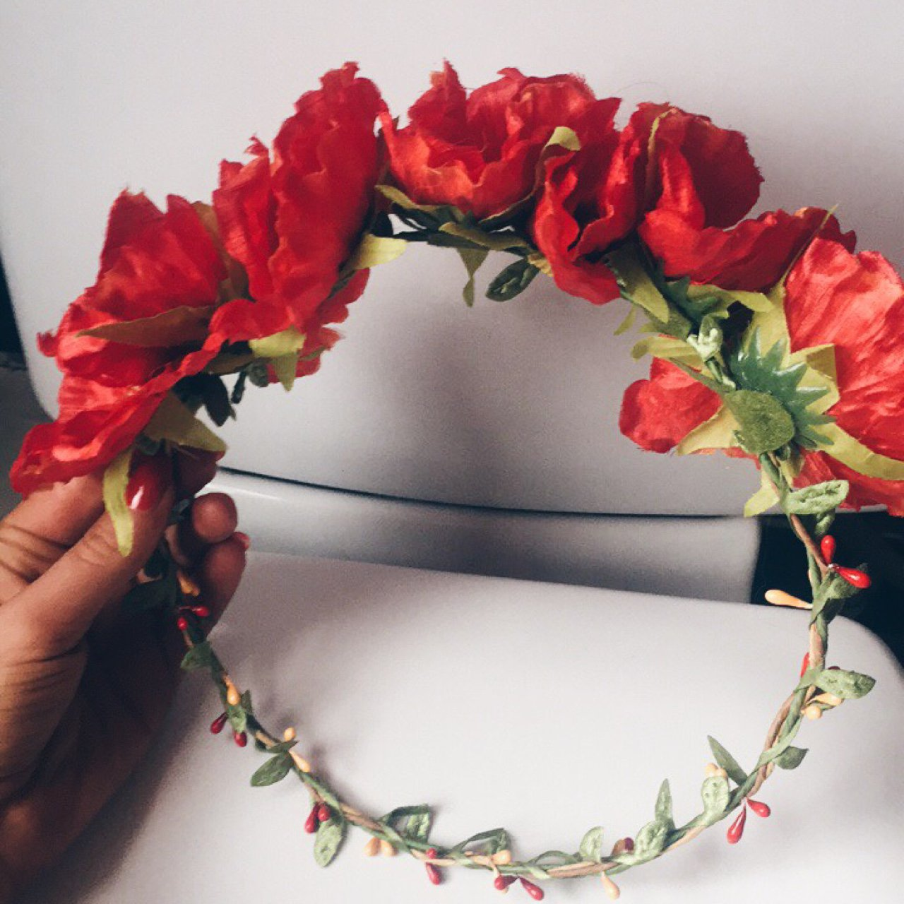 Brand New Topshop Flower Crown Bought For 18 X Depop