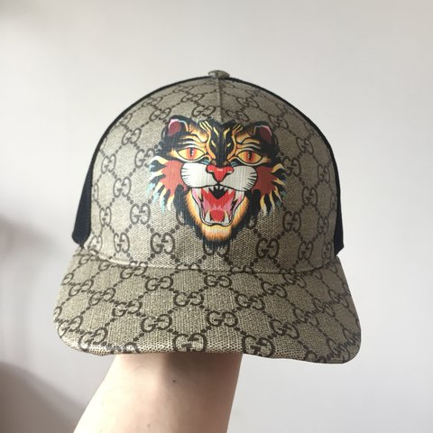 WTS Authentic Gucci Angry Cat Hat  03315114b8d