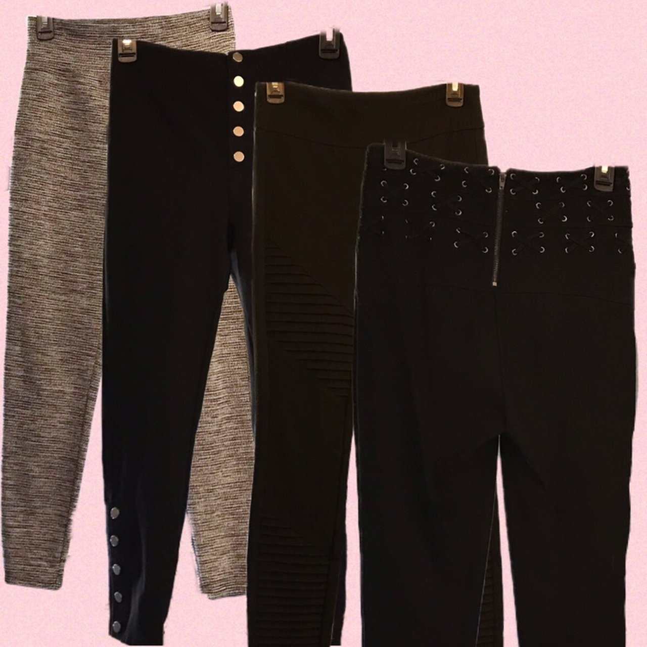 36ecffd1e3 BUNDLE of 4 pairs of leggings! They are all high waisted