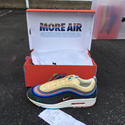bac33d1767 Nike Air Max 1 / 97 VF Sean Wotherspoon Air Max Day SIZE W/ - Depop