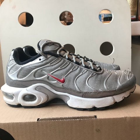 f633305c45 @evaturner. last year. London, UK. Nike Air Max Plus TN 'silver bullet' ...