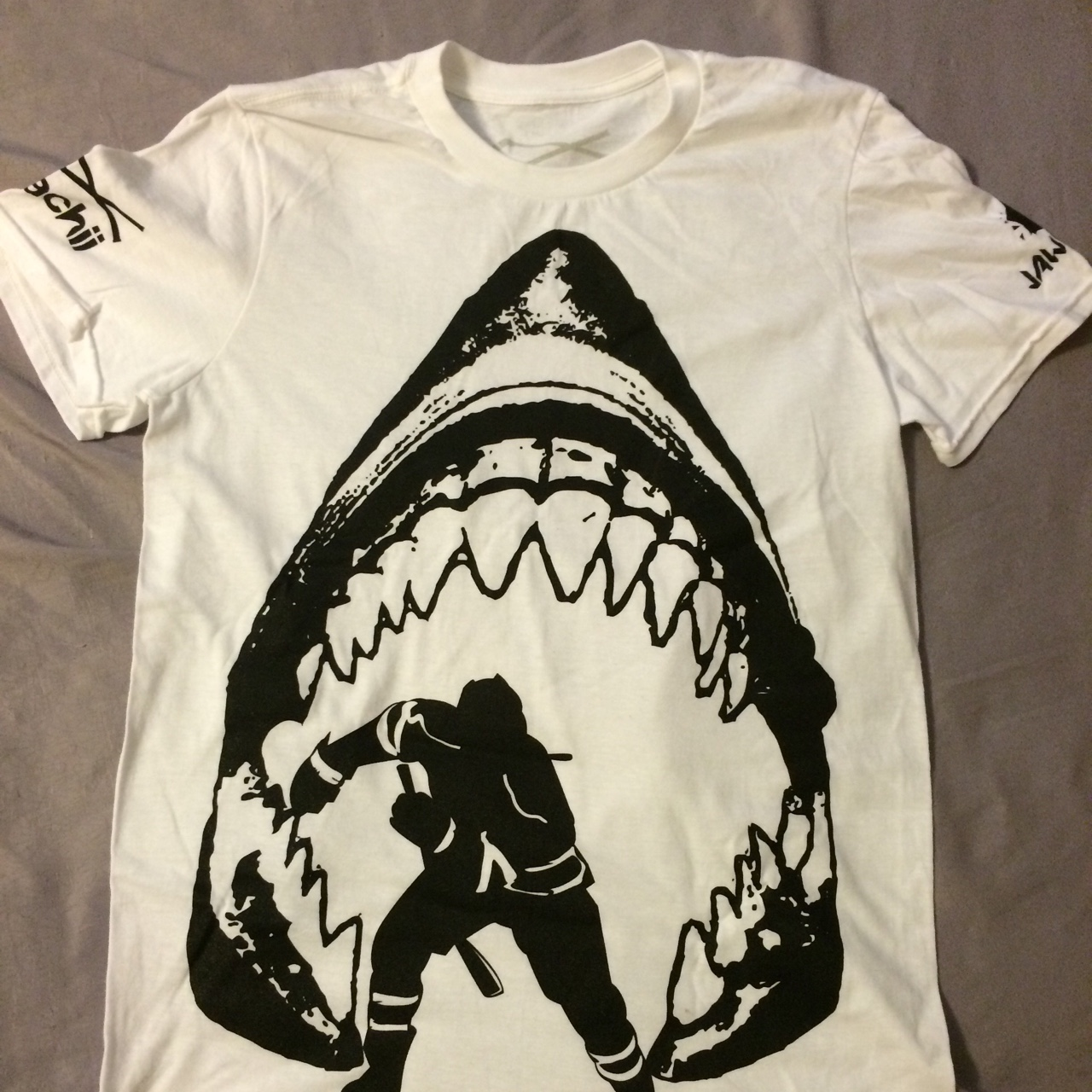 separation shoes 4bf91 3daa7 Calling all SJ Sharks fans! This shirt is available... - Depop