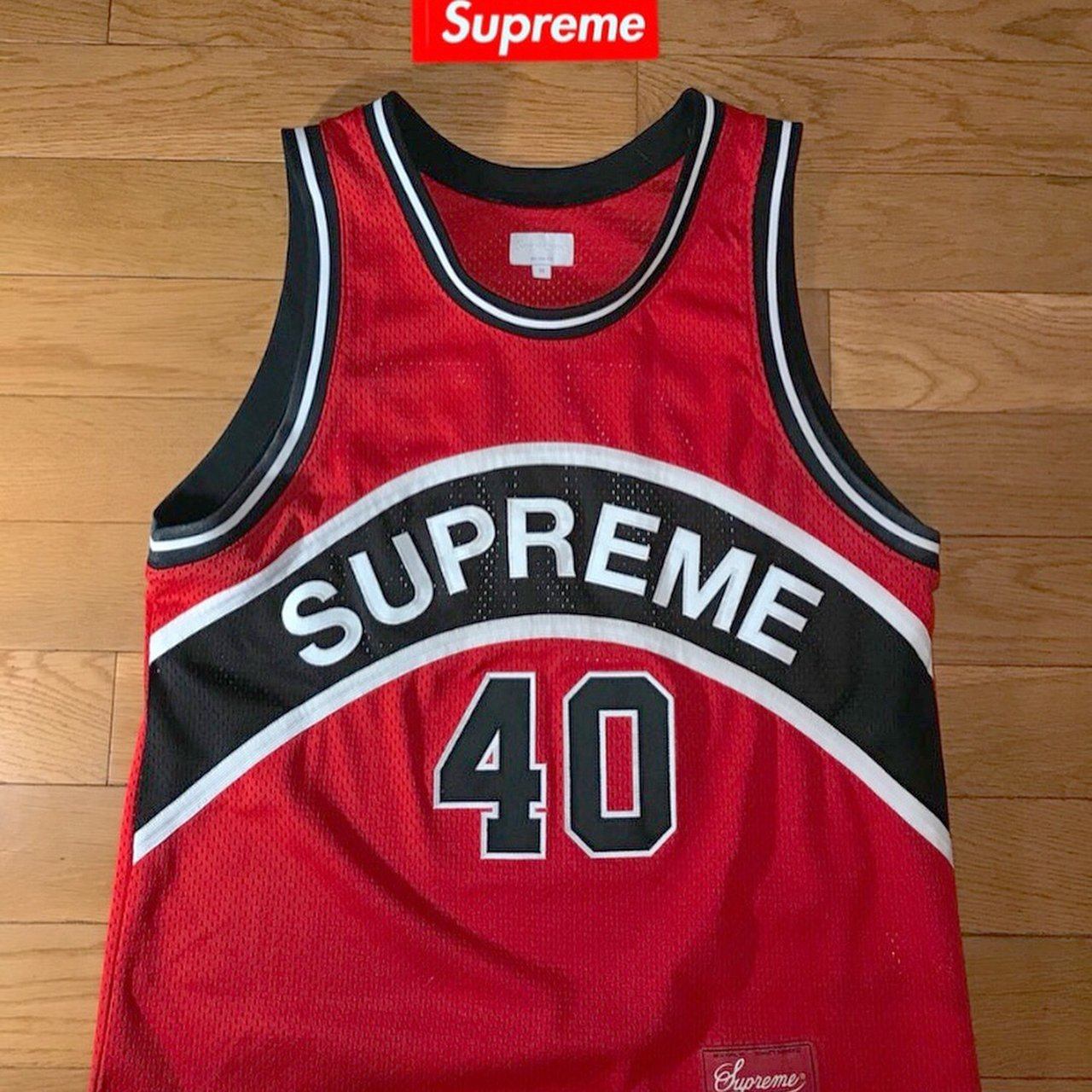 d768a6617  dameronrodrigue. 3 months ago. United States. Supreme® Curved Basketball  Jersey