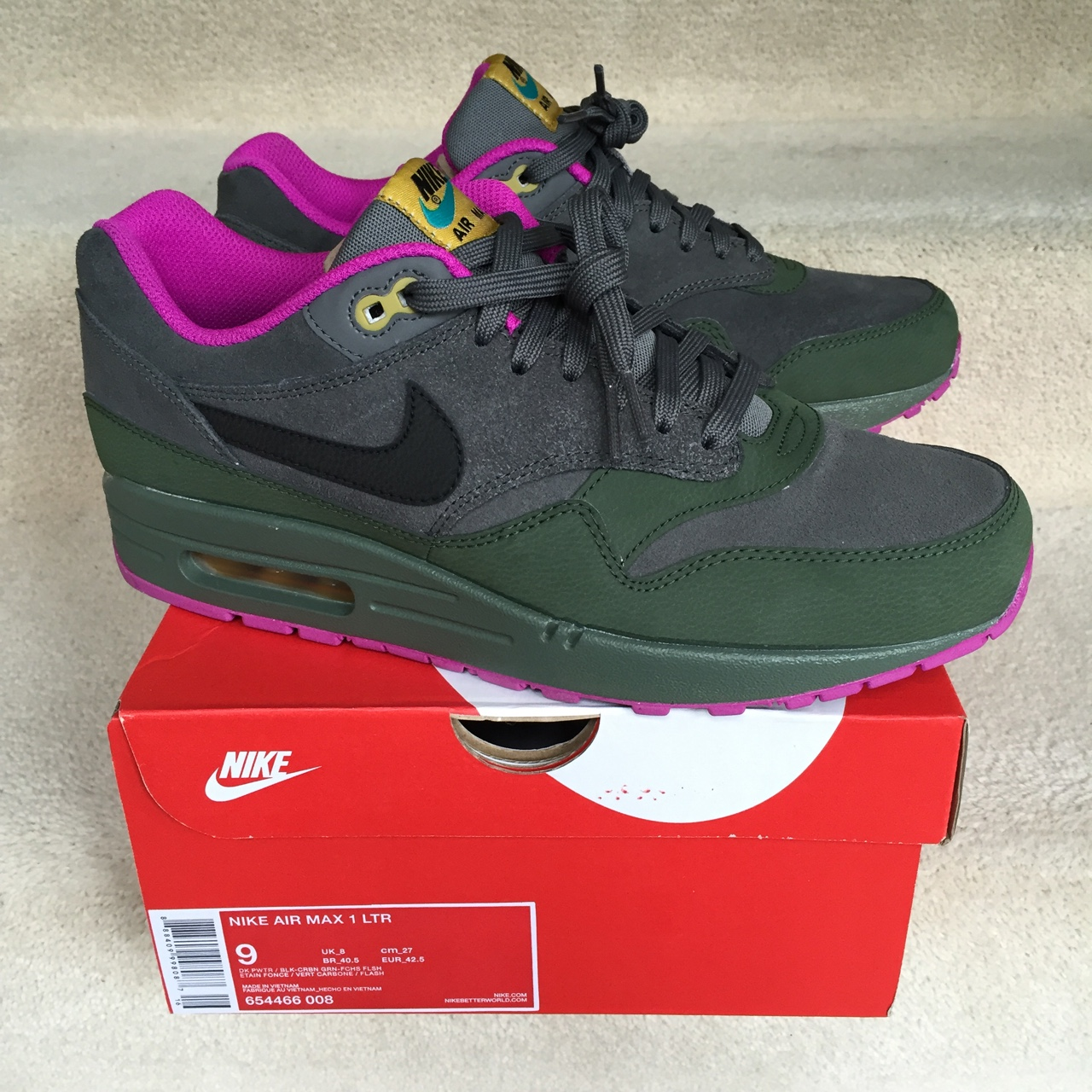 quality design b1a58 55dd7  solefooduk. 4 years ago. London, UK. Nike Air Max 1 LTR ...