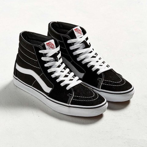 04778c7ebf77 Legendary high top skate shoes from Vans. Durable canvas and - Depop