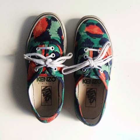 84cab4eb6a Kenzo x Vans collab purchased from Opening Ceremony in New a - Depop