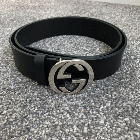 8e84047c111 Genuine Gucci belt. Proof of purchase paid £205 from size 95 - Depop
