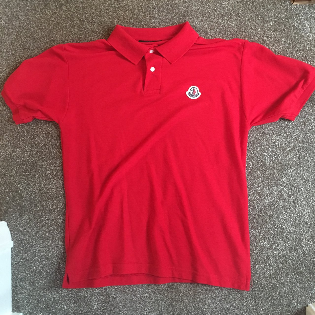 a6ed19421b5 Moncler Red Polo shirt size. Sold. £30. Gucci Web Fly Crest Sweatshirt