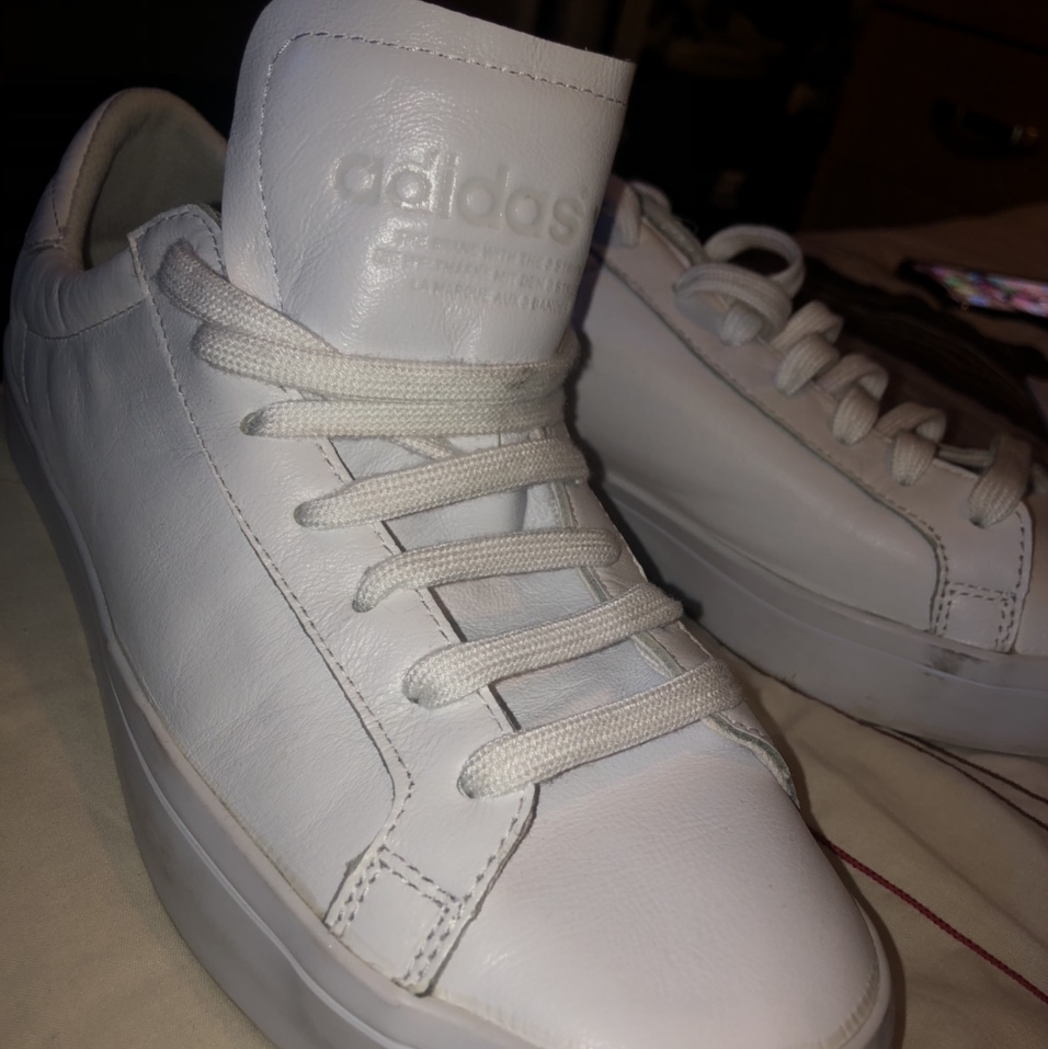 Men's #Adidas white trainers size 9