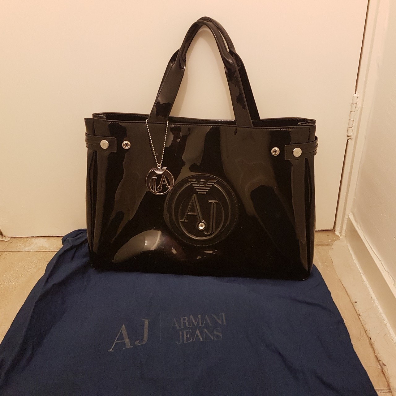 a986be2e5c Hardly used Emporio Armani women's shoulder bag for... - Depop