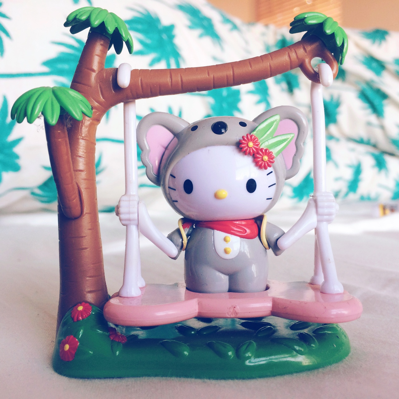 Hello Kitty Koala Set Comes With Moving Swing And A Depop
