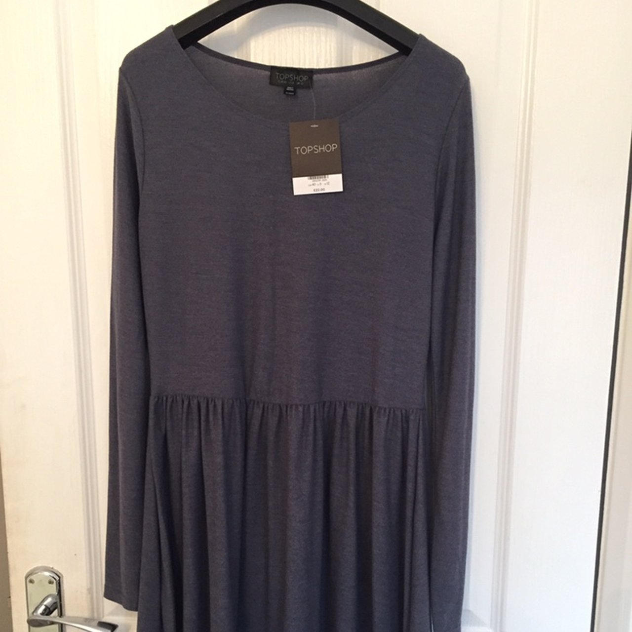 ef519d164d Topshop jersey blue dress. Brand