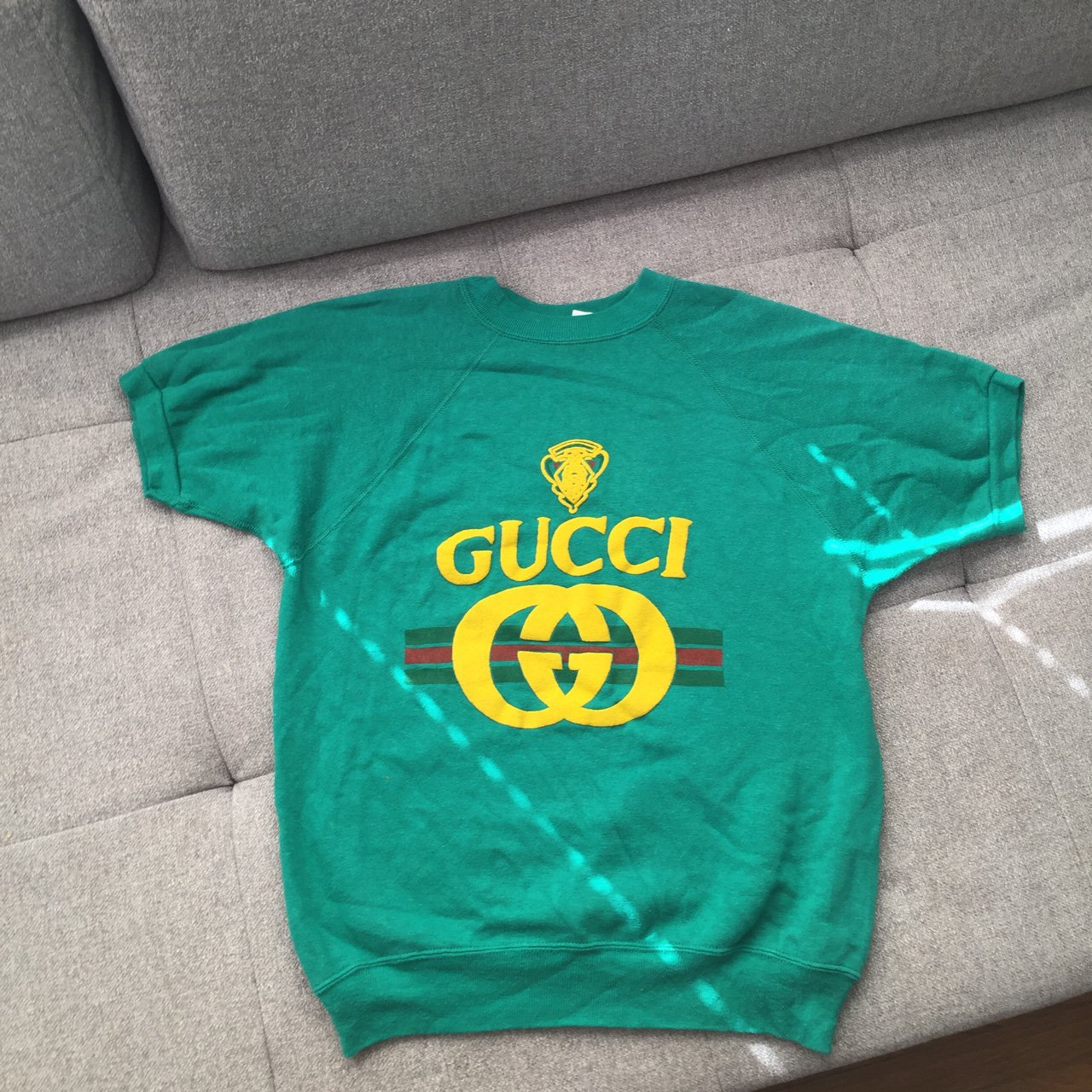2b8d0559375 Vintage faux Gucci sweatshirt 💸 I got this in Japan years a - Depop