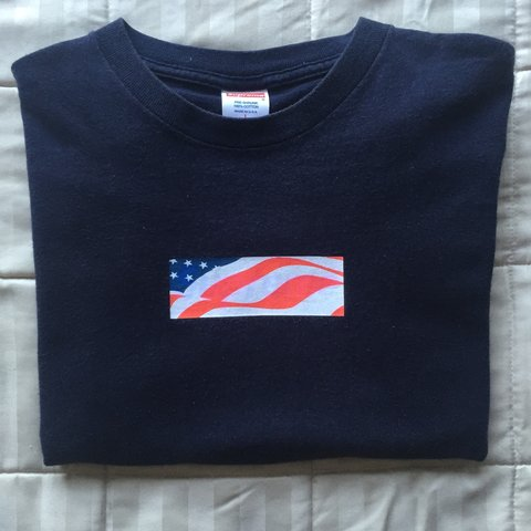 Supremedonuts 4 Years Ago Folsom Ca Usa Supreme 9 11 Box Logo Tee