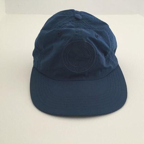 e78b92555ce Supreme 6 panel cap from S S 16. Navy blue color
