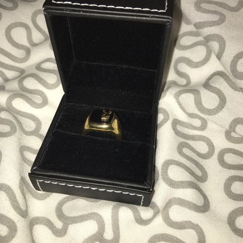 Well known Supreme x playboy ring Palace ring gold supreme bape - Depop BA44