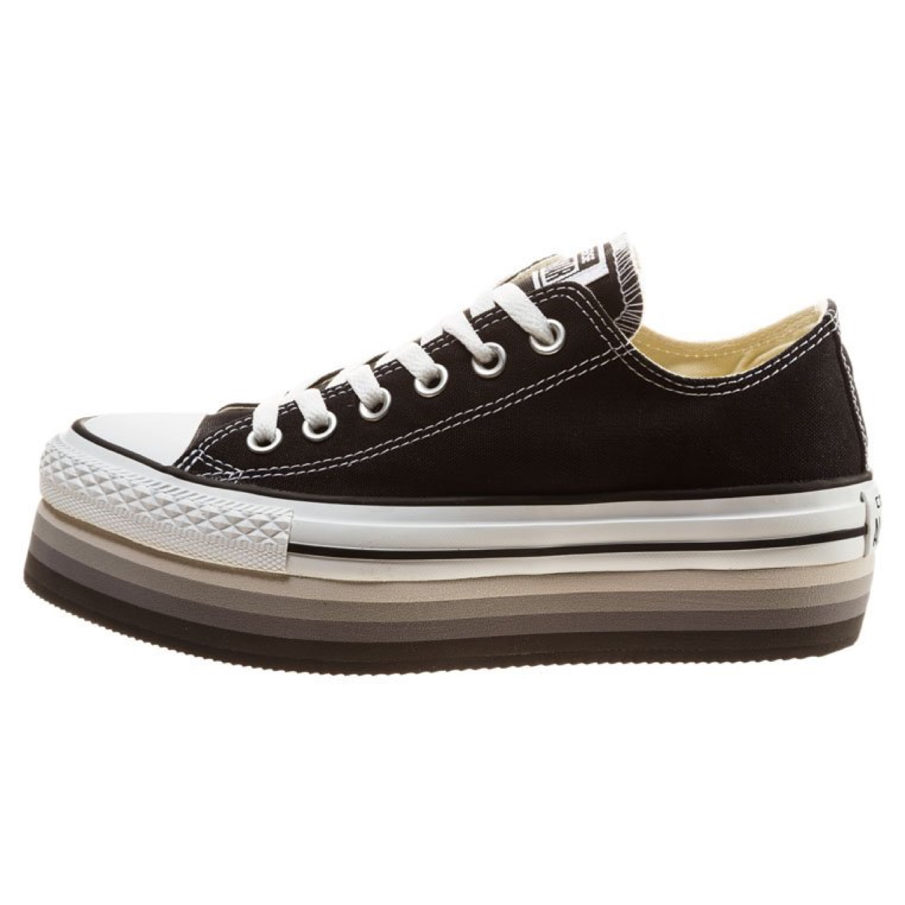 2converse canvas nere