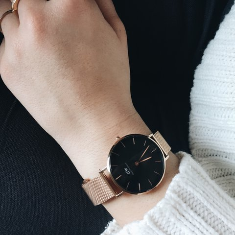 ac17b0666e23 Daniel Wellington rose gold watch from the new Classic Color - Depop
