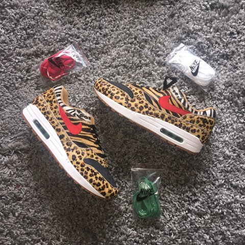 "low priced 3df18 c5faf  sneakerplug. 9 months ago. London, United Kingdom. NIKE X ATMOS AIR MAX 1  DLX "" SAFARI ..."