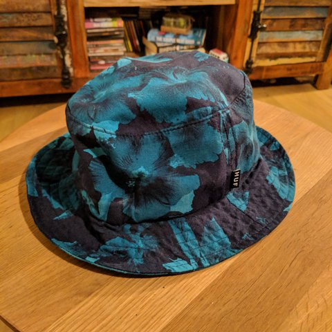 6784e2babcdf32 @zamhughes. last year. Felixstowe, Suffolk, United Kingdom. Huf floral  bucket hat