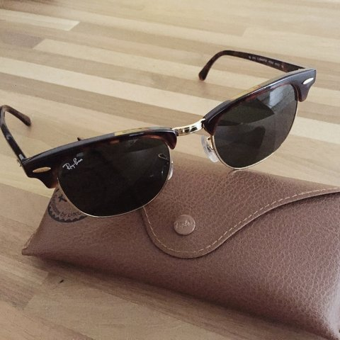 414032e39 @mw_mell. 4 years ago. Cham, Switzerland. Brand new Ray Ban Clubmaster  glasses, never worn ...