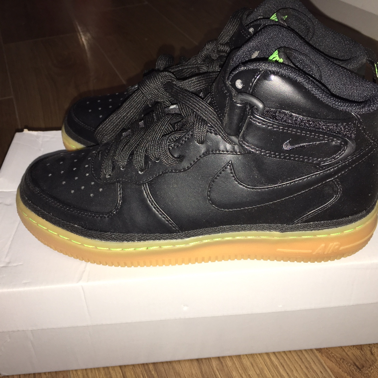 uk availability 21c4b df5a5 Nike Air force 1 Mid /High tops Size: 5 UK Brand new... - Depop