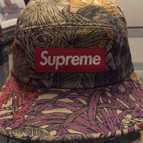 9107a7c06bb Supreme 5 panel. The style of the hat was worn by Tyler the - Depop