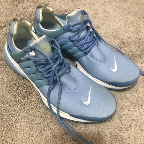c8e28dc8907b SKYBLUE NIKE AIR PRESTO PREMIUM SHOES. IN GOOD CONDITION. to - Depop