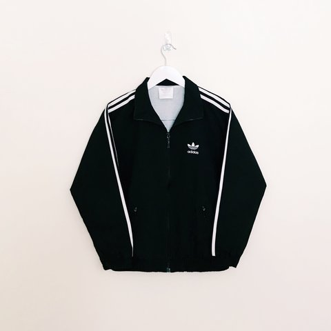 adidas firebird jacket black