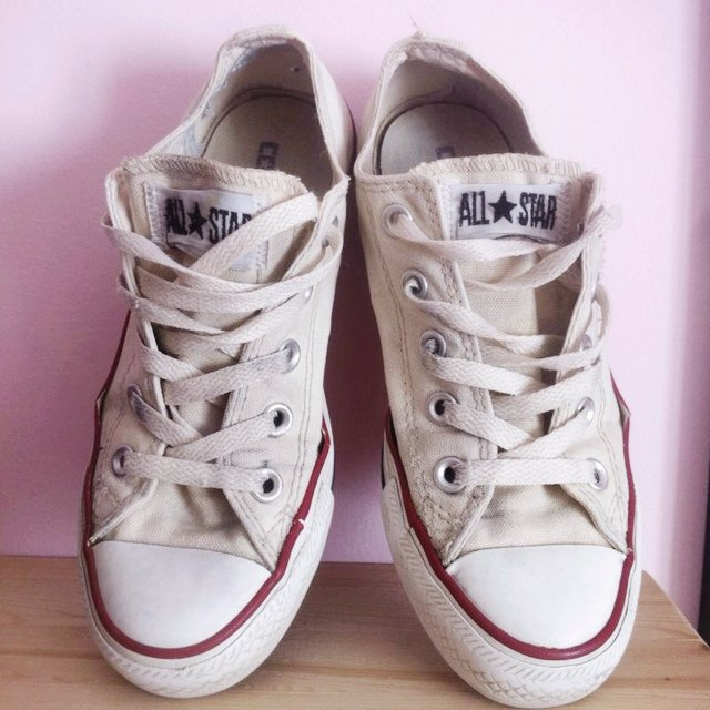 converse all star bianche basse 36
