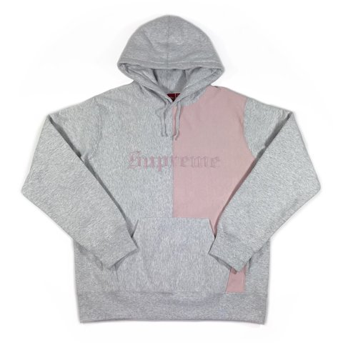 770ddce2c @thecabin. last year. London, UK. Supreme Old English Split Hoodie ...