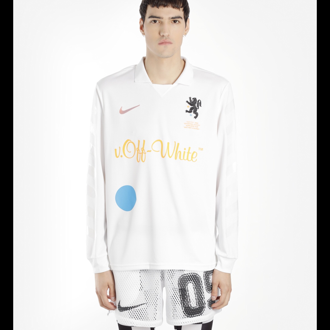 competitive price 659be a0bf9 Nike off white football jersey. ORDER CONFIRMED(see ...