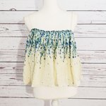 4957531611 BRAND  Intimately Free People SIZE  XS FLAW   25. free people embroidered tube  top.