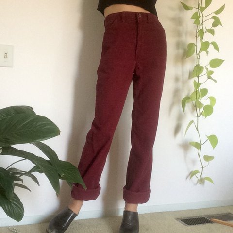 9e1734ac @voiddwellers. 2 years ago. San Luis Obispo, United States. Vintage 80s Wrangler  high waisted corduroy jeans. Boot cut ...