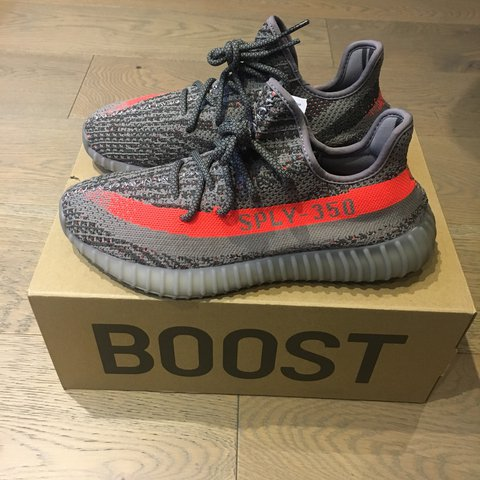 a3118e00be72f Adidas Yeezy Boost 350 V2   Beluga   - UK8.5   DS   original - Depop