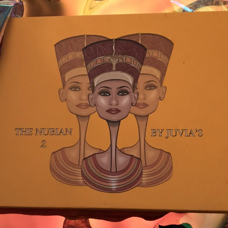 Nubian 2 Eyeshadow Palette From Juvia S Place Some Depop