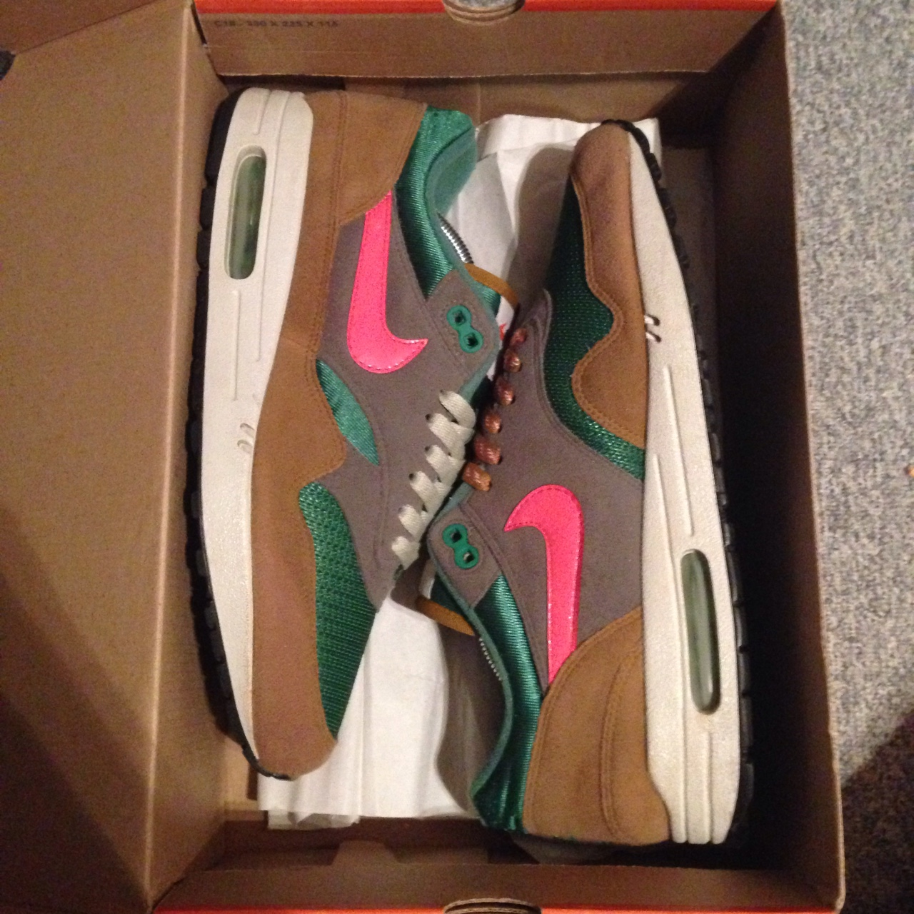 outlet outlet online cheap for discount Nike Air Max 1 Blue Ribbon Sports BRS US9.5 EU43 OG ...