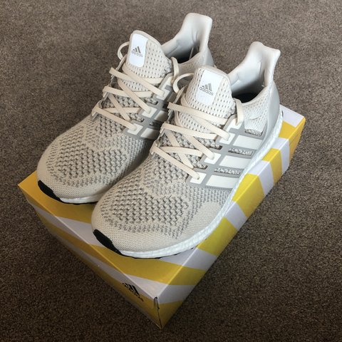 437a767422eba WANT THESE GONE TODAY PLEASE Adidas Ultra Boost 1.0 Cream UK - Depop