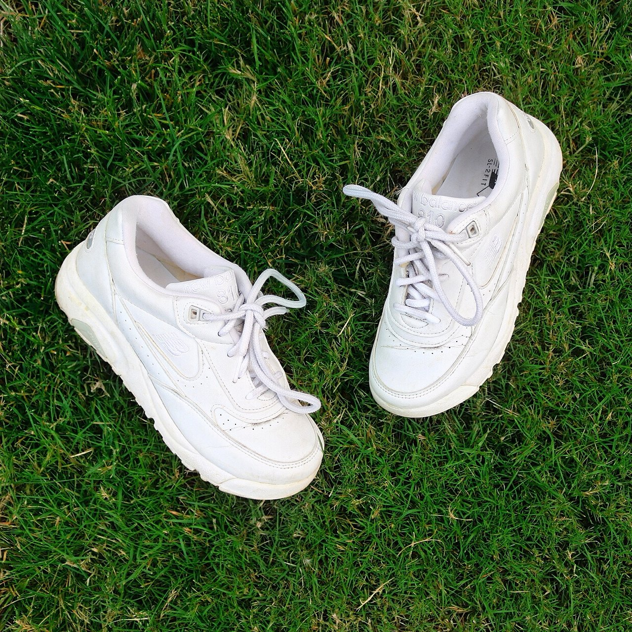white new balance dad shoes