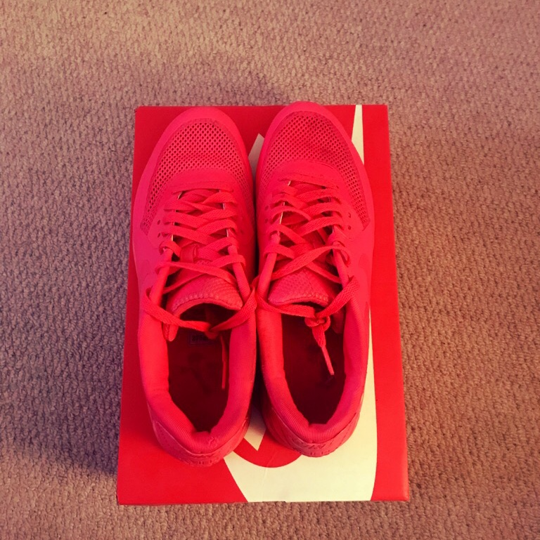 2011 Solar Red Nike Air Max 90 Hyperfuse Depop