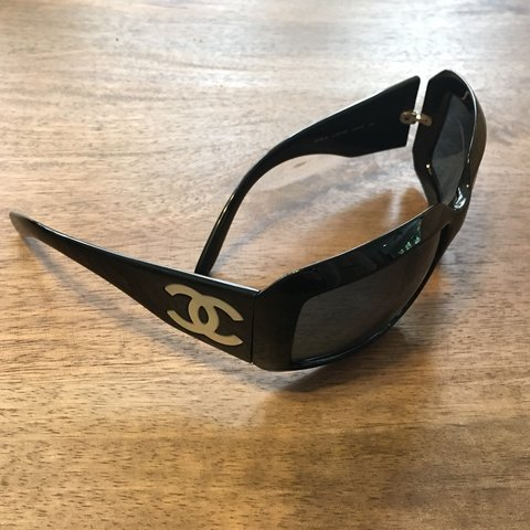 964cab85ac7d Chanel Sunglasses 5076H OMG! Check out these gently used of - Depop