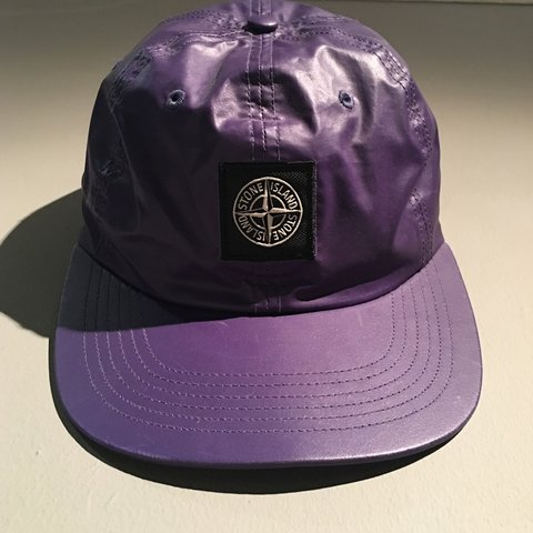 ba8af253 Supreme X stone island ss16 heat reactive cap. Changes from - Depop
