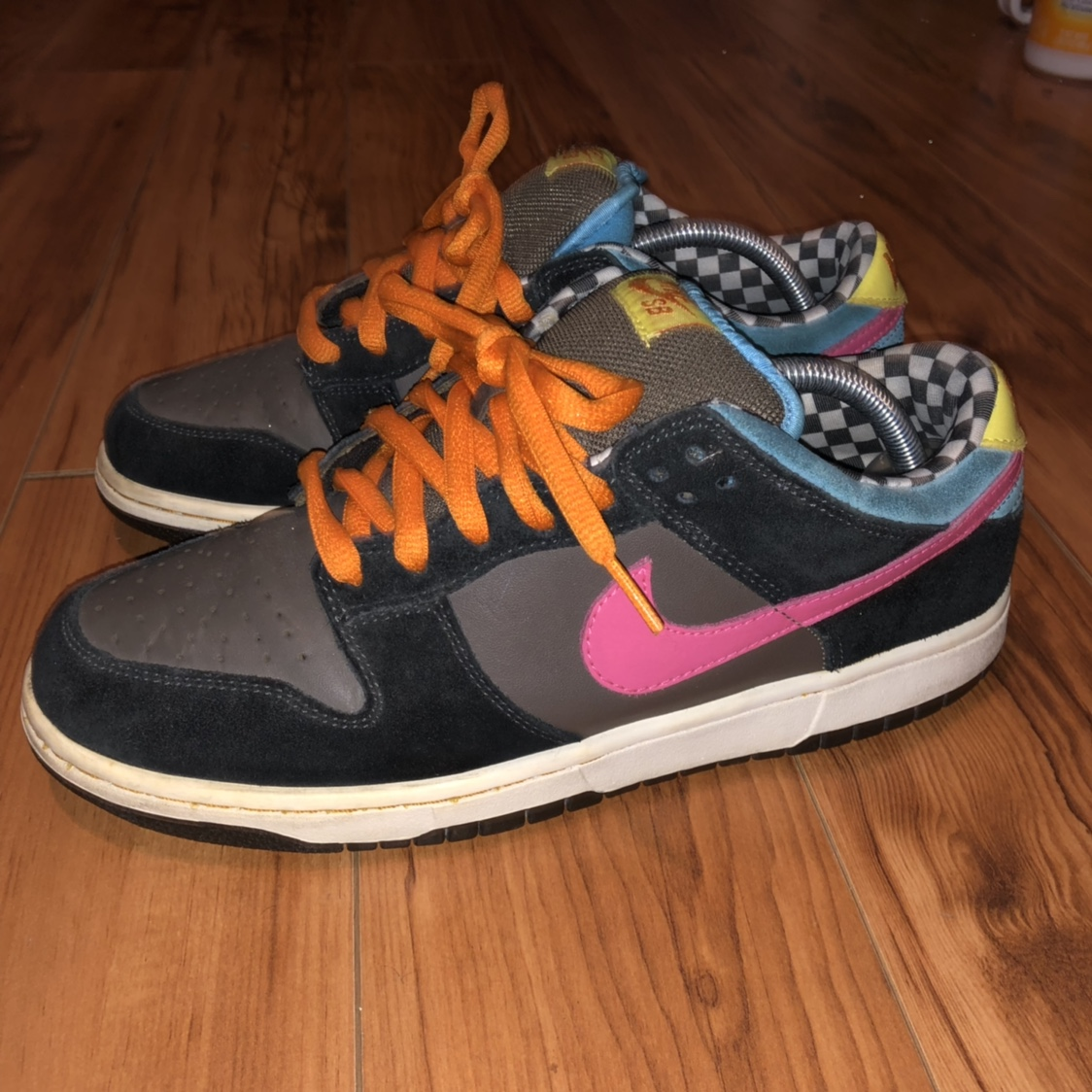 uk availability 7f60d 1d3d7 Nike SB 720 Dunk lows size 9.5. 8/10 condition. Flaw... - Depop