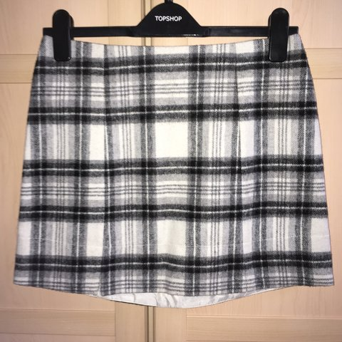 4ad20125c @jclarkerivers. 2 years ago. Broomfield, Chelmsford, UK. Black and white  tartan mini skirt from new look soft material in good condition ...