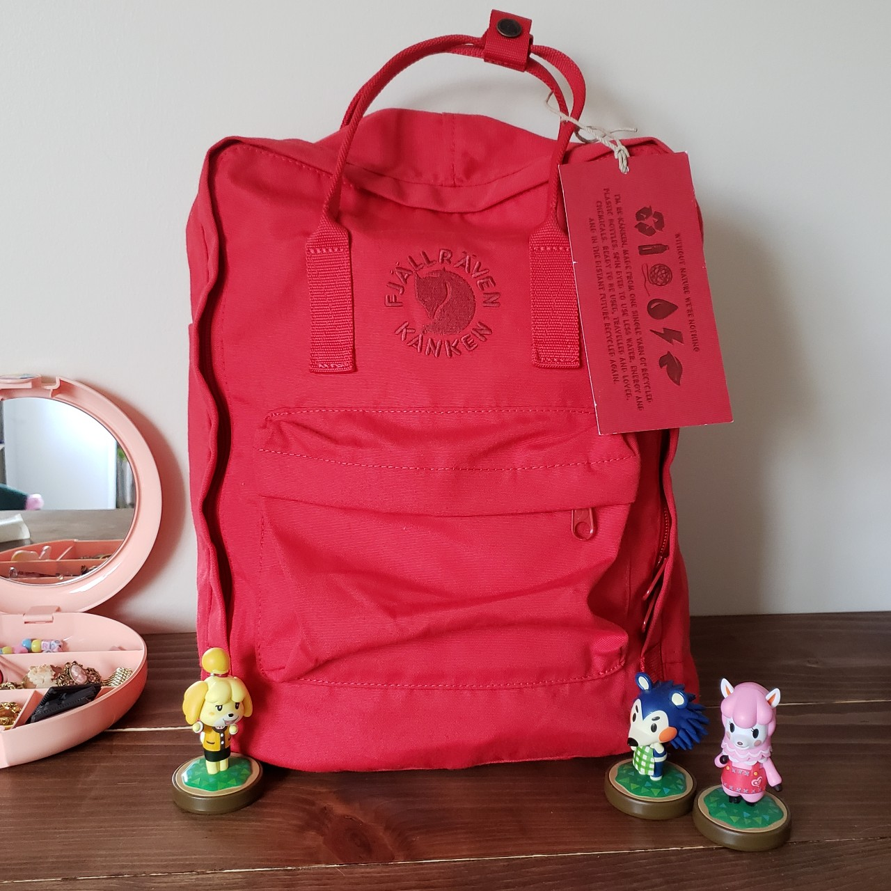 new appearance factory outlets best choice Brand new with tags Fjallraven Re-Kanken in 320 Red ...