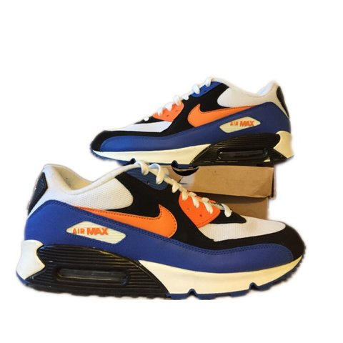 548f985ad74 Nike Air Max 90 Style Code  309299-127 Color  WHITE-BRIGHT - Depop