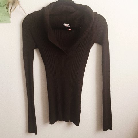 d8ee9f17171 Brown cowl neck sweater! Super cute! Tags   urban brandy 21