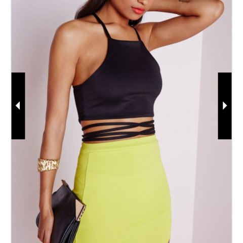 48137251e4e @cmaiolani. 4 years ago. Manchester, UK. Missguided crop top with wrap  around string.