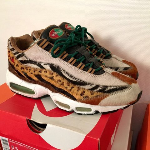 meilleur site web 5ea23 1749b Selling OG Nike Air Max 95 Atmos Safari Animal BIN... - Depop