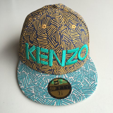 8ef36fcc465 ... official kenzo new era 59fifty fitted cap size 7 7 8 never worn depop  8a5af 132ba ...